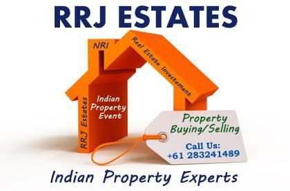 RRJ Estates (Indian Property Experts) Online Real Estate Portal for NRIs and Indian Indian Properties Investment in Australia More Info Here- www.rrjestates.com