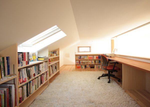 ハイジ気分になれちゃう素敵空間?!書斎でも収納でも、秘密基地にしてもOK!屋根裏部屋の使い方10選 | ギャザリー