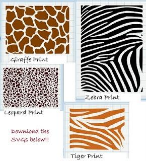 Free animal print download
