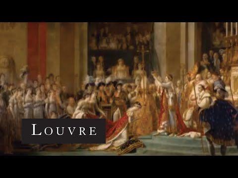 ▶ Le Sacre de Napoléon, de David - David's The Coronation of Napoleon - Musée du Louvre - YouTube