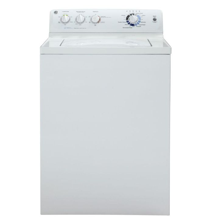 Ge 3 9 Doe Cu Ft Top Load Washer In White Tops