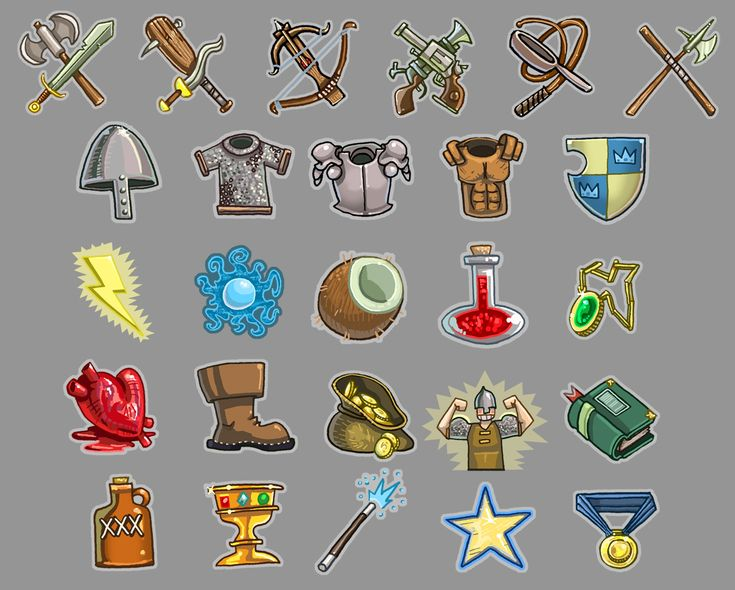 Zork- Interface Icons by *Zubby on deviantART
