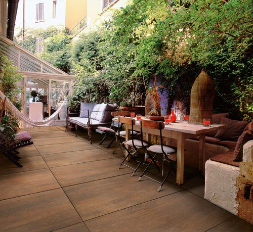 At last the ease of laying paving slabs with the beauty and practicality of…