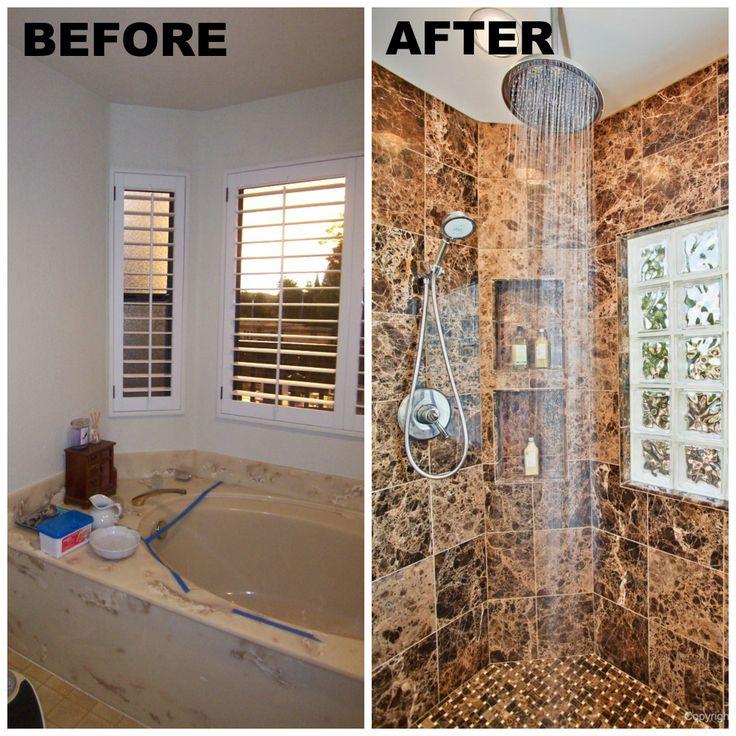 20 Best Before  After Home Remodels Images On Pinterest Adorable San Diego Bathroom Remodel Design Inspiration