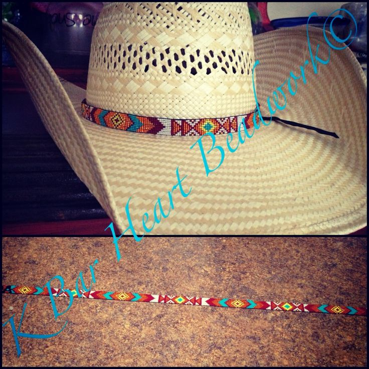 horse navajo blue bands hat beaded hair htm c band tassel