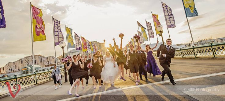 A fun filled bridal party   VIBE Photography   http:vibephotography.com.au