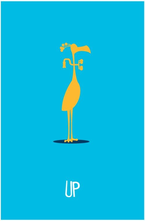 minimalist movie posters 2 20 Brilliant Minimalistic Movie Posters