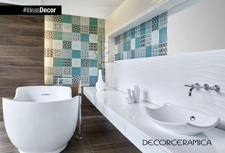#IdeasDecor te recomienda combinar en un mismo ambiente tres estilos de acabados http://on.fb.me/1f6ccVA