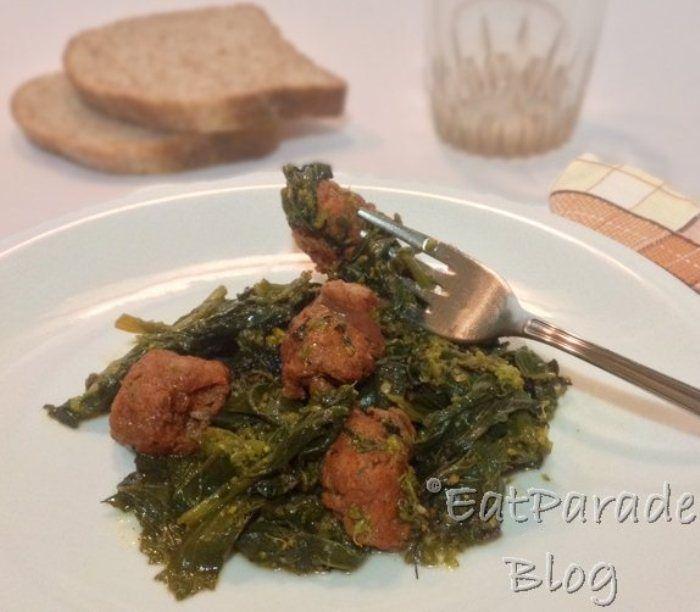 Salsiccia e broccoli di rapa