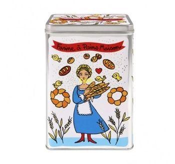 "Boîte à farine ""pain maison"" - DLP - Valérie Nylin"