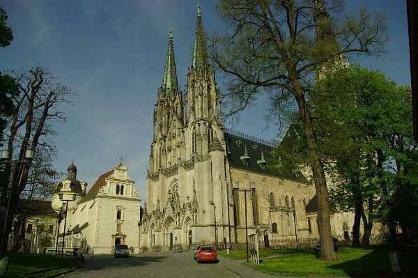 Česko: Olomouc: Václavské náměstí & Katedrála svatého Václava