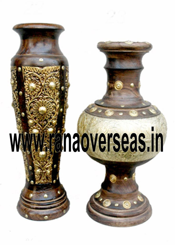 Our Wooden flower vases / pots serve as decorative pieces specially used to display the plants and flowers together with a beautiful view of exotic flower colors and plant greenery. Our Wooden flower vases are serve as a memorable gifts for near and dear ones. They are ideally placed on writing tables, coffee tables, dining tables, center tables, Room corners, corner racks, corner tables, showcases etc. and impart a touch of style to the decor. The exotic beauty of Wooden flower vases