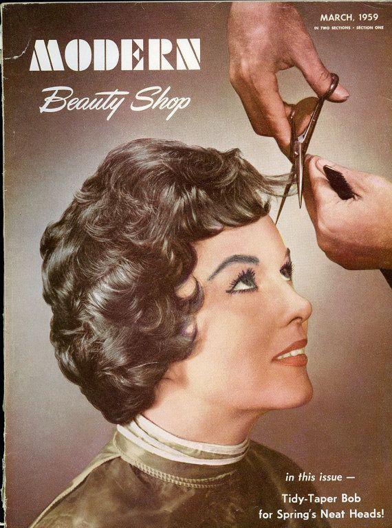 Modern Beauty Shop Magazine Lot of Three Vintage Salon Mags by OldBookSmell, $55.00