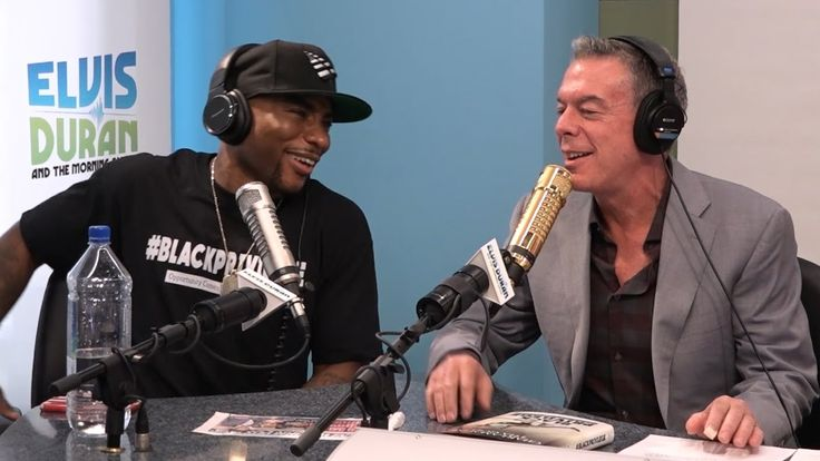 awesome Elvis Duran Asks Charlamagne Tha God How He Got His Name + More