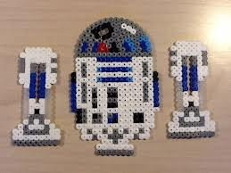 R2D2 - Star Wars original perler design