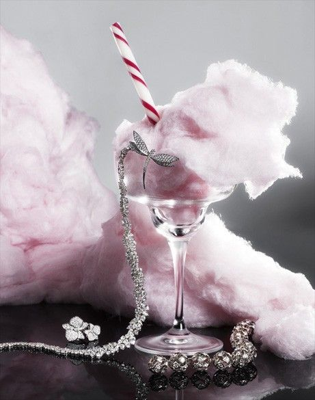 cotton candy still life, photography by Lacey