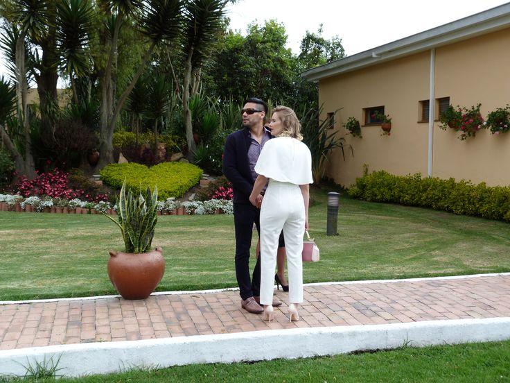 Radamel Falcao y Lorelei en un evento social