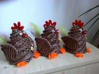 Veselé Velikonoce   Pletení z papíru