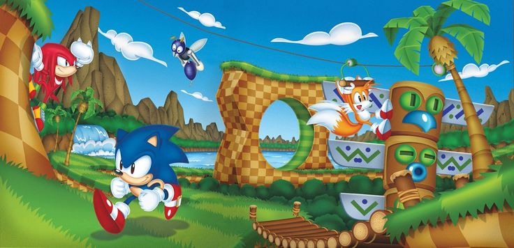 Official Sonic Mania Art