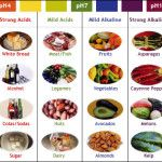 Foods that create Alkaline and Acidic reactions in the body
