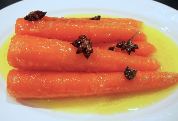 Tom Kerridge - Star Anise Braised Carrots