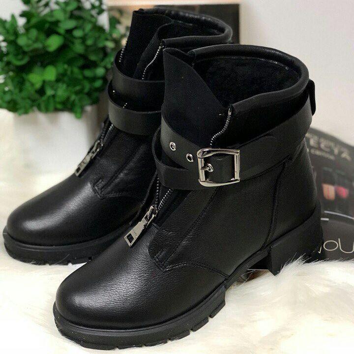 29 отметок «Нравится», 2 комментариев — Кожаная обувь и сумки. (@shoeparadise_catalog) в Instagram: «Эта моделька - ТОП продаж! Женские кожаные ботинки. Листай фото. Зима (утеплитель овчина) и…»
