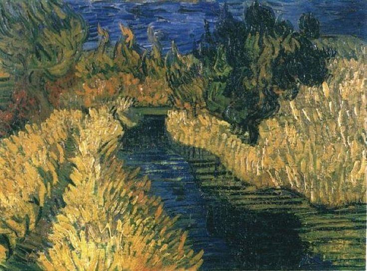 """The Little Stream,"" Vincent van Gogh (1890)"