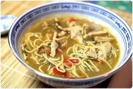 Soupe aux nouilles chinoises, poulet et goji « Recettes « Baie de Goji Bio et Jus de Goji Bio