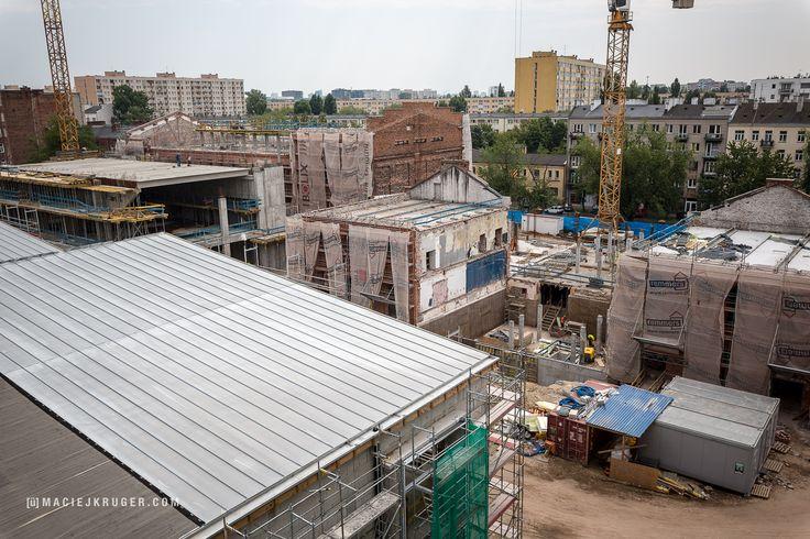 Koneser w budowie | W tym budynku siedzibę mieć będzie w przyszłości hotel Moxy