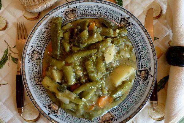 Κολοκύθια τούμπανα, κουκιά μαγειρεμένα | Κουζίνα | Bostanistas.gr : Ιστορίες για να τρεφόμαστε διαφορετικά