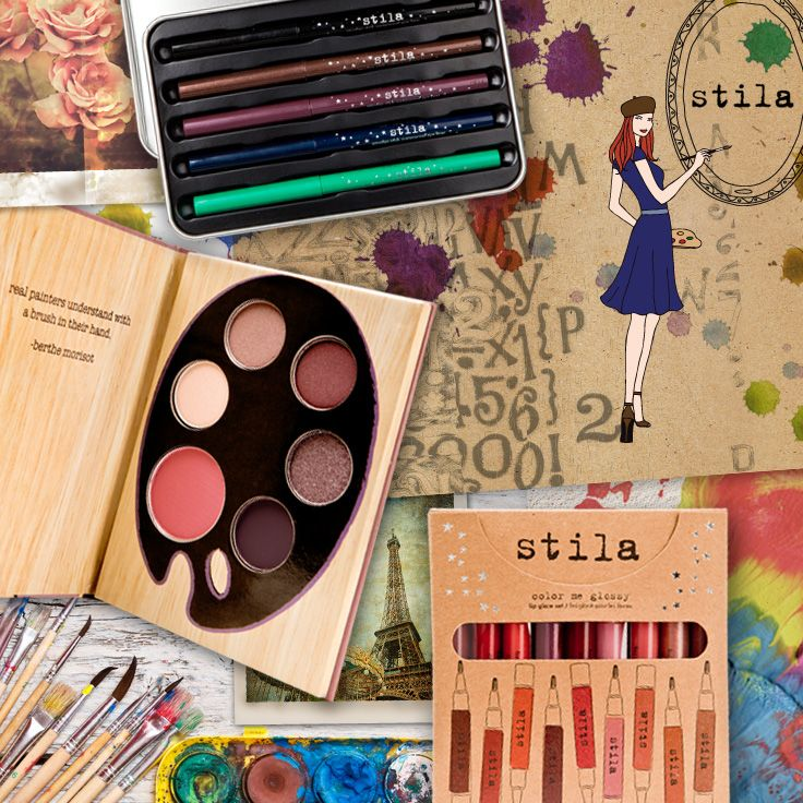 Your face is the perfect canvas to create beautiful looks with the new Artistry Collection from stila cosmetics. #ulta #ultabeauty