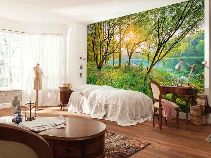 Fototapet peisaj Komar Spring Lake - adu natura în casa ta.