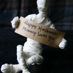 Movable Mummies Halloween Tutorial