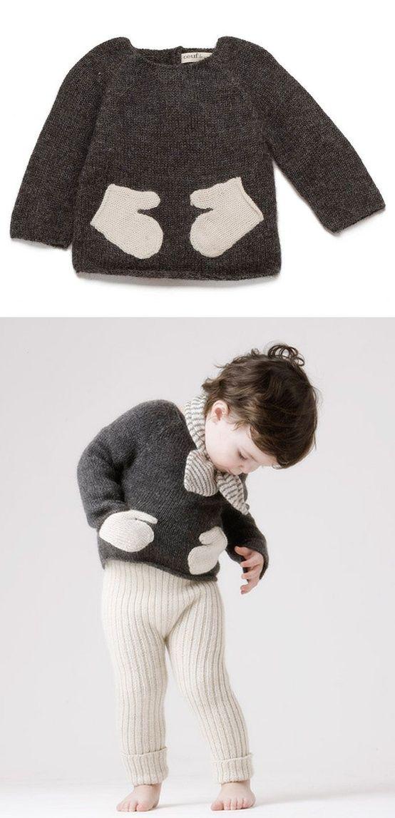 mitten sweater....I'd rock this!
