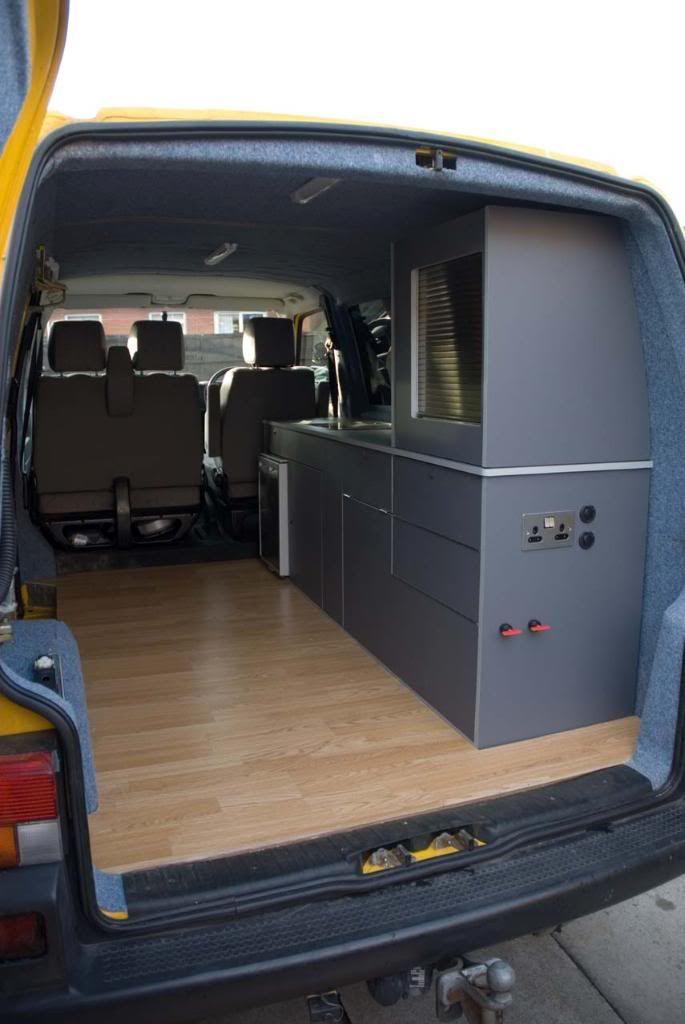 VW T4 Forum - VW T5 Forum Cargo Van Camper Camper, Hiace camper