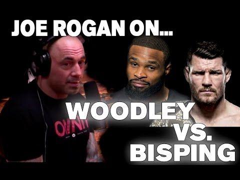 Joe Rogan on Possible Tyron Woodley vs. Michael Bisping Fight