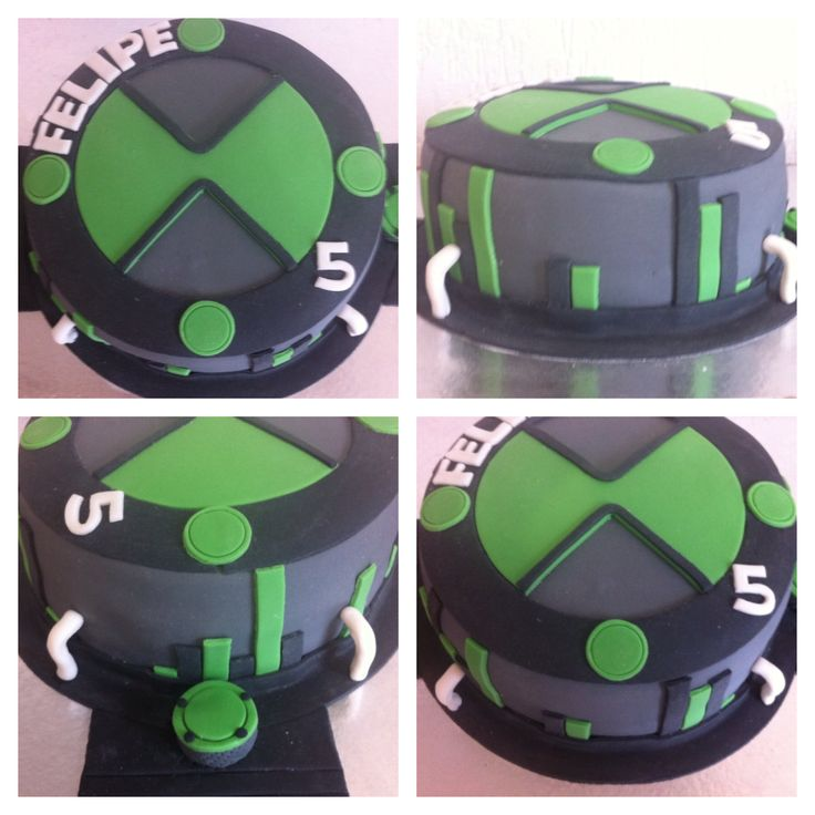 Ben 10 cake by Dolce Cielo Gourmet   Torta ben 10, Fiesta ...