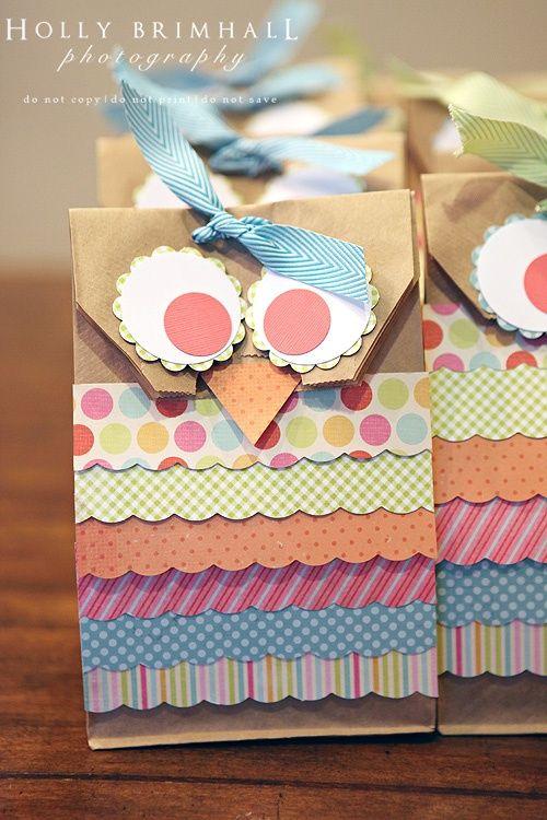 10 ideias de embalagem para lembrancinhas de aniversário | Macetes de Mãe