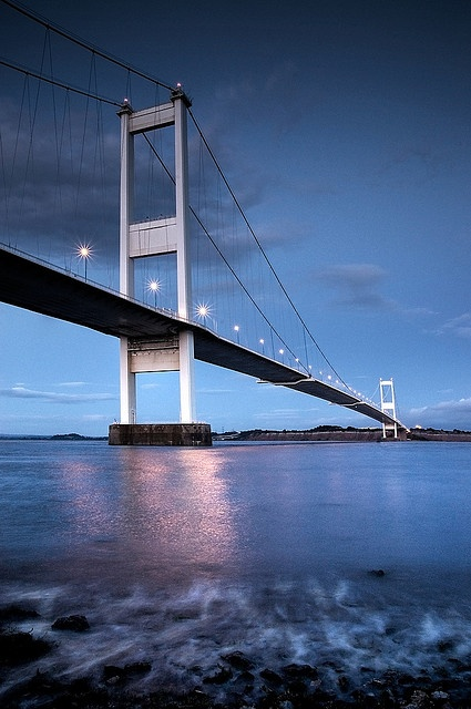 Severn Bridge - my favourite part of the drive to Wales.