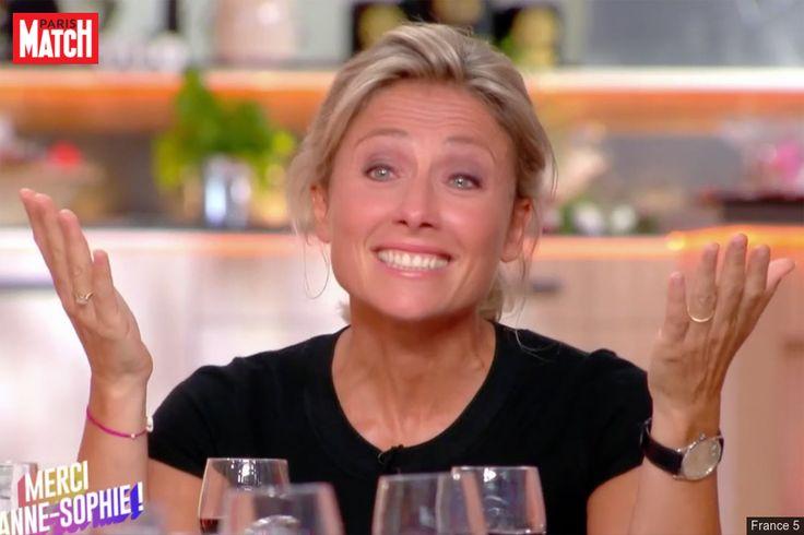 l'émotion d'Anne-Sophie Lapix pour sa dernière Anne-Sophie Lapix a fait ses adieux à «C à vous» vendredi. Pour sa dernière, ses équipes avaient préparé de nombreuses surprises à l'animatri... http://www.parismatch.com/Culture/Medias/C-a-vous-l-emotion-d-Anne-Sophie-Lapix-pour-sa-derniere-1293530