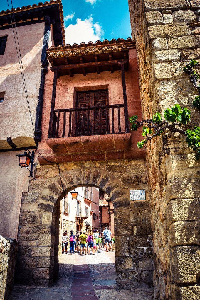 Portal del Agua (Albarracin - Spain)