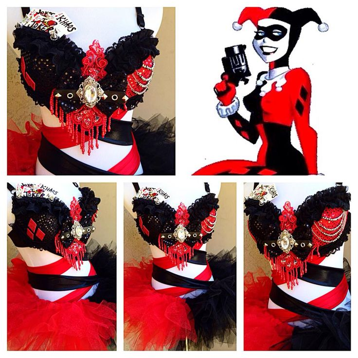 By: Electric Laundry <3  Harley Quinn! Love love love this!