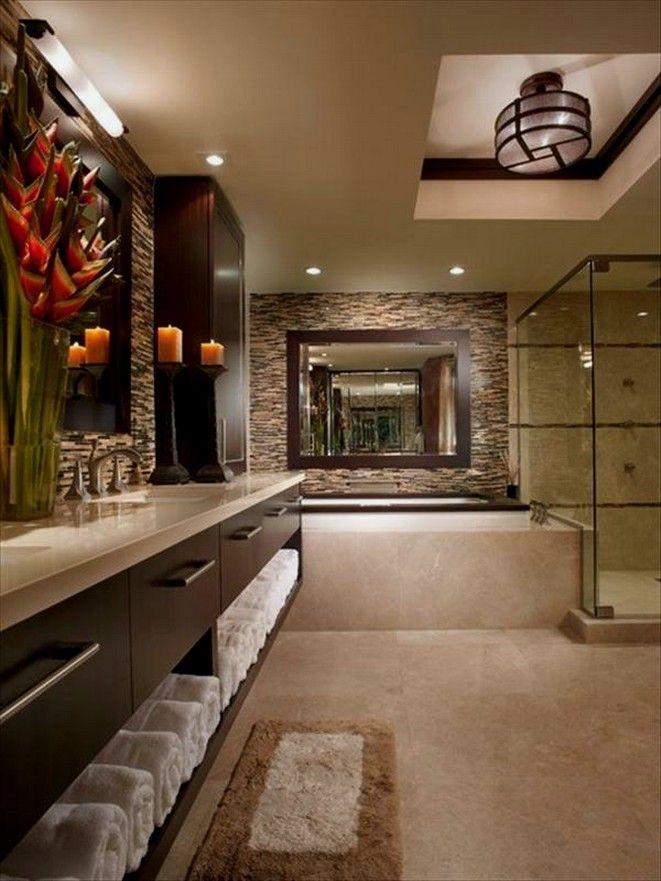 11 Beautiful Bathroom Wall Decor Ideas With Luxury Style For You 00010 Bathroom Design Styles Bathroom Design Luxury Bathroom Design Gallery