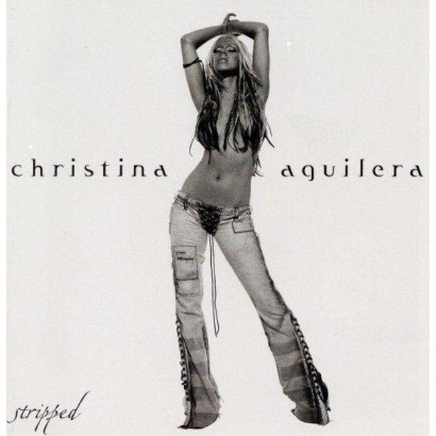Rca Christina Aguilera Stripped 2002 UK CD album