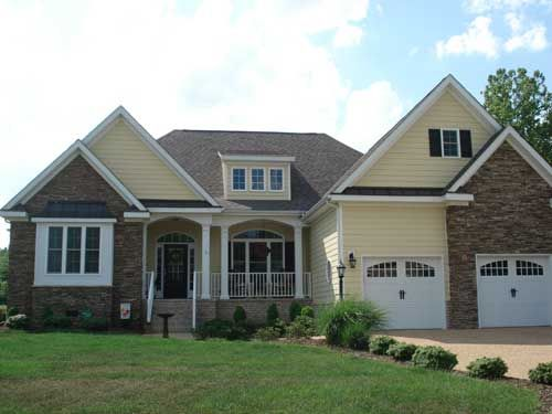 Wilson Bridge Home Plans And House Plans By Frank Betz Associates One Story Plans With Bonus