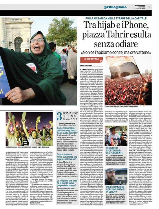 Reportage:la gente di Tahrir