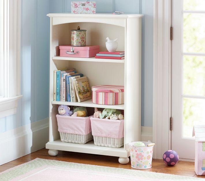 Catalina 3-Shelf Bookcase - Pottery Barn