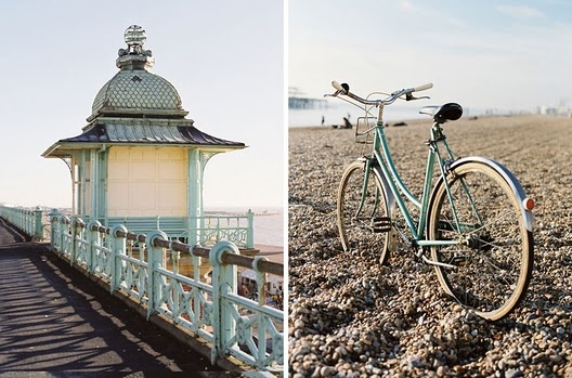 You always see amazing bikes in Brighton. Photo by Vanessa Jackman.
