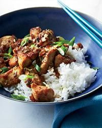 Lemony Chicken Stir-Fry | Diane Cu and Todd Porter make this quick and easy chicken stir-fry with lots of lemon, which gives it a fresh, bright flavor.