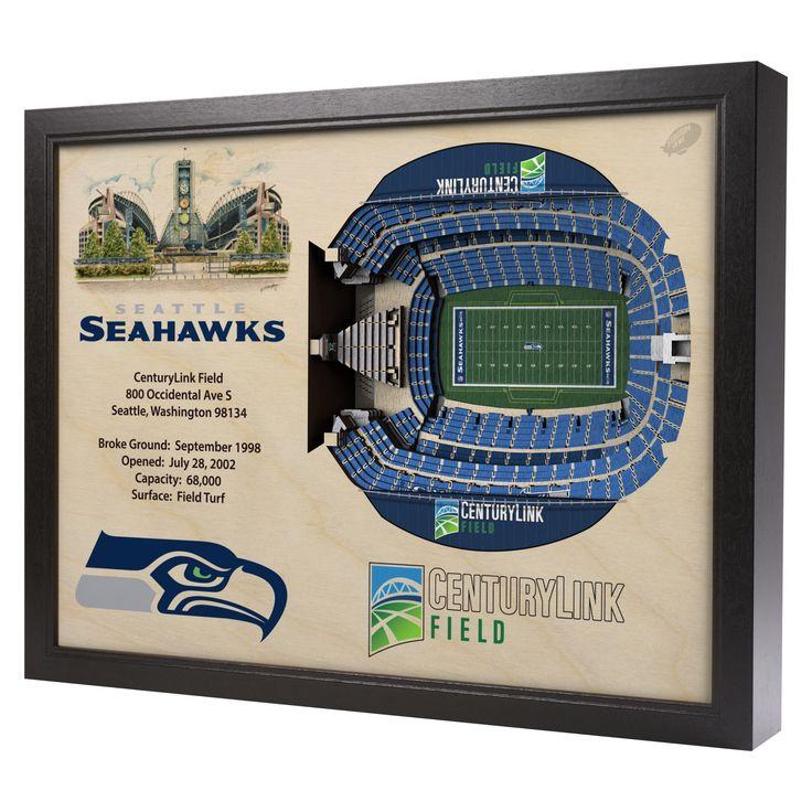 NFL Seattle Seahawks StadiumViews Wall Art - Century Link Field